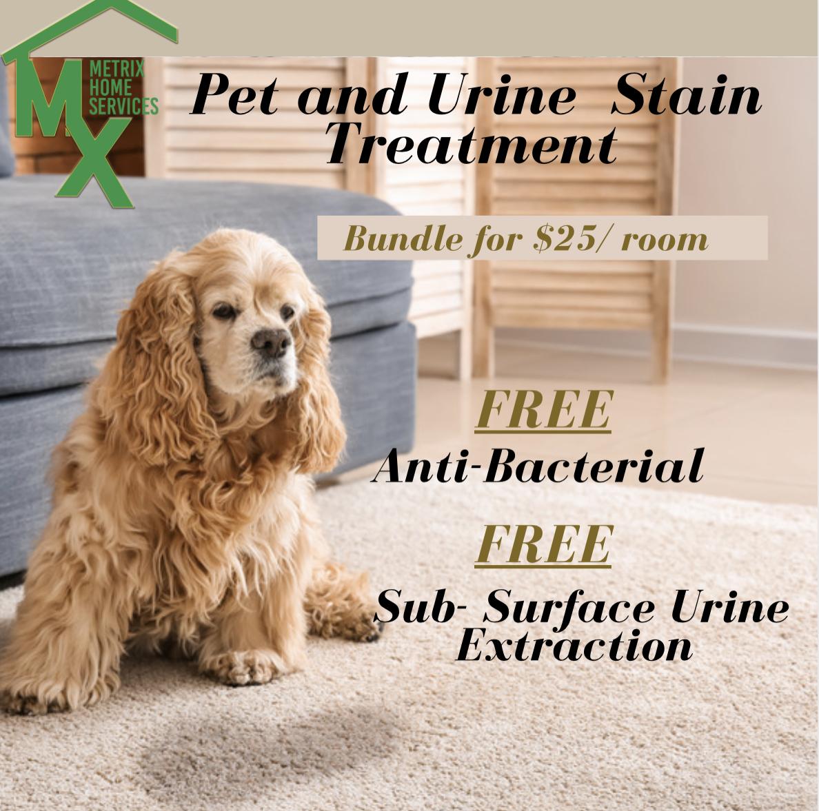 Pet & Urine Strain Treatment